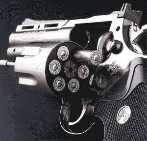 回転式拳銃(リボルバー)