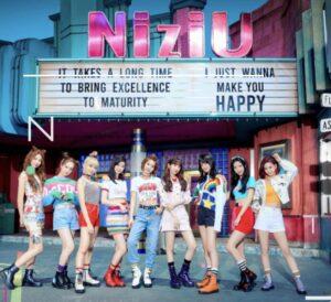 NiziUのメンバー画像とグループ名の由来についての画像
