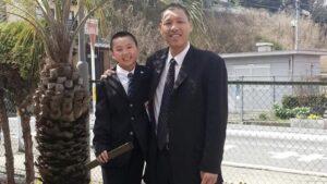 富永啓生の父親・富永啓之は元プロバスケ選手!親子の身長差画像!