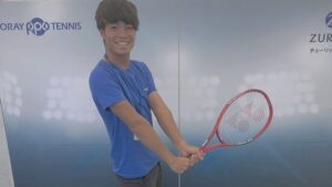 トライズムそういちろうは高校時代テニス部だった