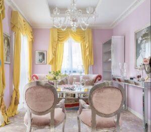 コルファージュリアの家にある母親のシャンパンルームの内装画像