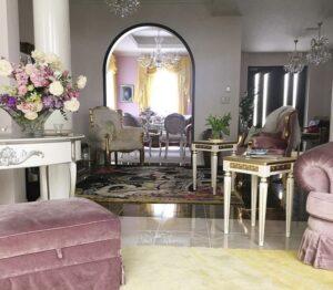 コルファージュリアの自宅は大豪邸!部屋の間取りと家具画像