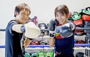 ぱんちゃん璃奈のコーチ・トレーナーは元キックボクサーの鈴木秀明