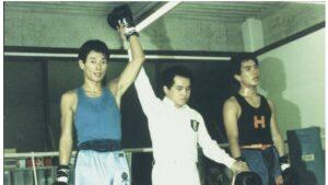 西村康稔大臣の若い頃は東大のボクシング部だった