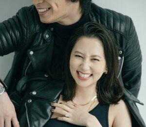 河北麻友子が旦那とツーショットで結婚を発表!