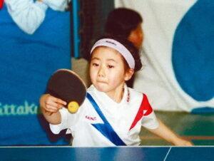 福原愛が3歳で卓球を始めた幼少期画像!
