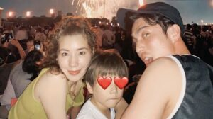 仲里依紗と中尾明慶の息子・トカゲの顔画像・写真は?