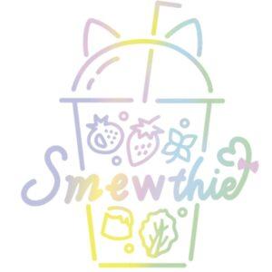 東京ミュウミュウにゅー♡の声優アイドルグループ「Smewthie」のロゴ