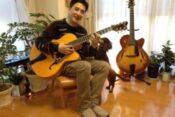 大村晴空の祖父・北垣響絃は元プロギタリストで現在ギター教室の経営者だった!