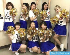 紀平梨花の姉・紀平萌絵はAAAのNissyのバックダンサー!チアリーダーの衣装画像