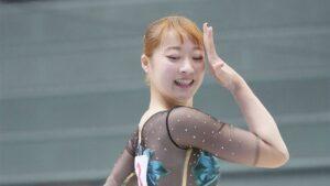 平岩優奈の髪色が可愛い!オレンジでオリンピック内定!
