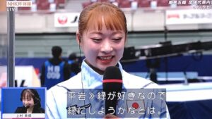 平岩優奈が髪色を緑にする理由!
