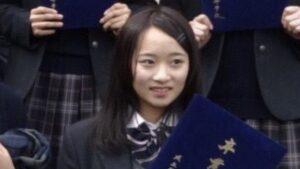 平岩優奈の髪色と髪型!高校時代は黒髪でセミロング!