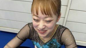 平岩優奈の髪色が可愛い!オレンジ色でオリンピック出場!