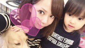 肥田莉里香の母親が元モデルで可愛い!