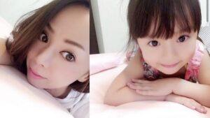 肥田莉里香の母親あすかの美人顔画像!