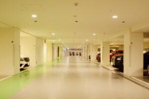 今田耕司の自宅マンションの駐車場