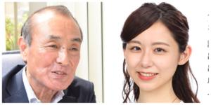 小山内鈴奈の父親は青森テレビの社長?顔がそっくりでコネ入社と噂!