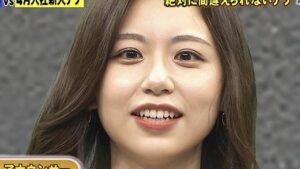 小山内鈴奈の目は斜視?左右の大きさを比較!