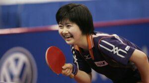 福原愛の卓球選手時代の画像
