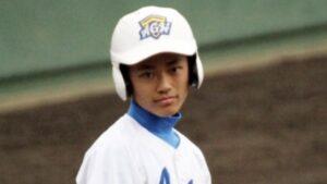 中山翔貴の大学時代の野球部イケメン画像