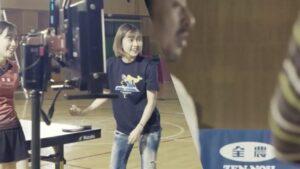石川佳純の妹・梨良が全農のCMに出演メイキング