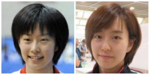 石川佳純の顔が変わった比較画像