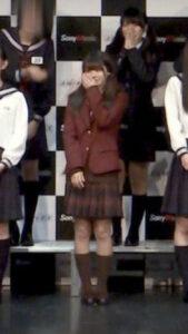 浅倉唯の高校の制服姿