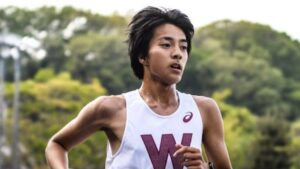 箱根駅伝2022早稲田大学イケメン選手小指卓也の顔画像