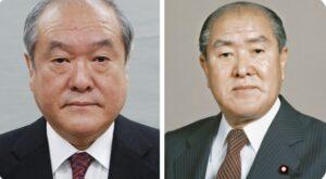 鈴木俊一の家系図・父親にそっくり顔画像比較