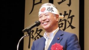 甘利明幹事長の病気は舌癌と睡眠障害